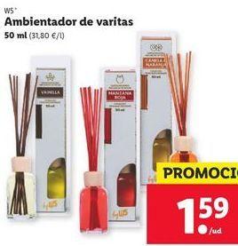 Oferta de Ambientador de varitas W5  por 1,59€