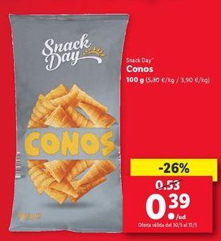 Oferta de Conos Snack Dat  por 0,39€