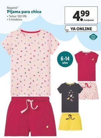 Oferta de Pijama para chica Pepperts! por 4,99€