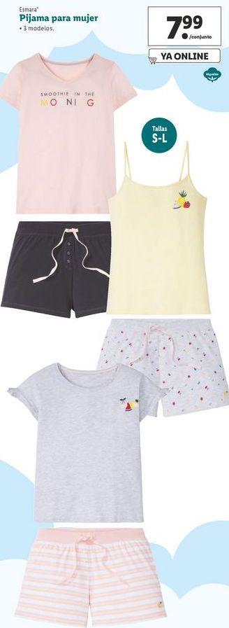 Oferta de Pijama para mujer Esmara  por 7,99€
