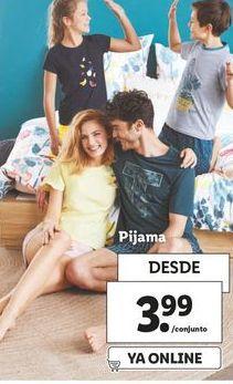 Oferta Pijama Lidl