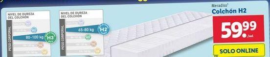 Oferta de Colchón H2 Meradiso  por 59,99€