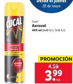 Oferta de Aeroslo Cucal  por 3,99€