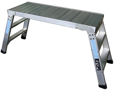Oferta de Plataforma para almacén plegable 3 peldaños 45x120 cm por 239€