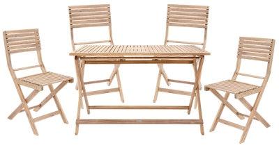 Oferta de Mueble de exterior de 4 plazas Solis Naterial por 159€
