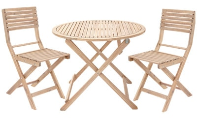 Oferta de Mueble de terraza de madera Solis Naterial por 95€