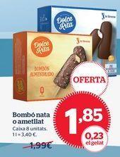Oferta de Helado de almendras por 1,85€