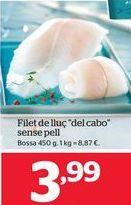 Oferta de Filetes de merluza por 3,99€