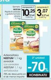 Oferta de Papilla de cereales Nestlé por 10,25€