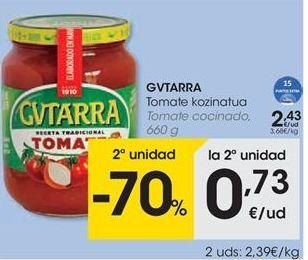 Oferta de Tomates Gvtarra por 2,43€