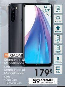 Oferta de Smartphones Xiaomi por 179€