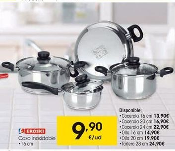 Oferta de Cazo eroski por 9,9€