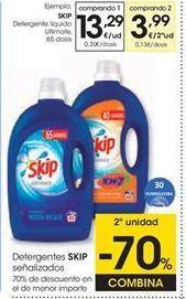 Oferta de Detergente líquido Skip por 13,29€