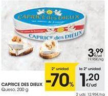 Oferta de Queso Caprice des Dieux por 3,99€