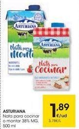 Oferta de Nata Central Lechera Asturiana por 1,89€