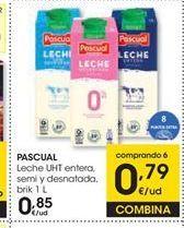 Oferta de Leche Pascual por 0,85€