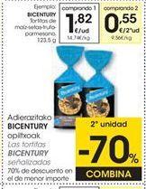 Oferta de Tortitas de maíz Bicentury por 1,82€