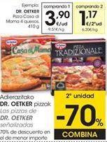 Oferta de Pizza Dr Oetker por 3,9€