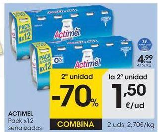 Oferta de Actimel Danone por 4,99€