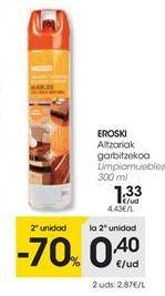 Oferta de Limpiador de muebles eroski por 1,33€