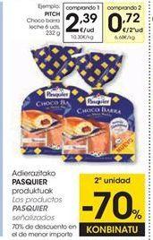 Oferta de Bollería Pasquier por 2,39€