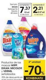 Oferta de Detergente líquido Dixan por 7,37€