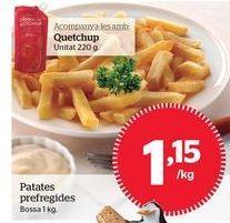 Oferta de Patatas fritas congeladas por 1,15€