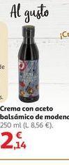Oferta de Crema con aceto balsámico de modena por 2,14€