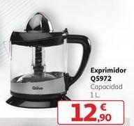 Oferta de Exprimidor Q5972 por 12,9€