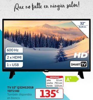 Oferta de TV 32'' Q32HS201B TDT2 HD  por 135€