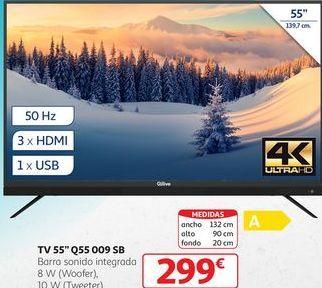 Oferta de TV 55'' Q55 099 SB por 299€