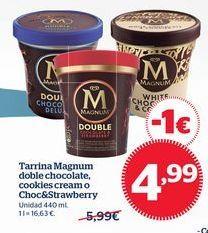 Oferta de Tarrina de helado Magnum por 4,99€