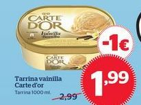Oferta de Tarrina de helado Carte d'Or por 1,99€
