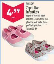 Oferta de Zapatillas por 4,99€