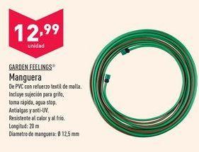 Oferta de Manguera Garden Feelings por 12,99€