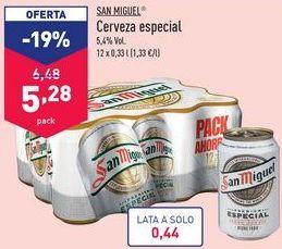 Oferta de Cerveza San Miguel por 5,28€