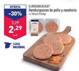 Oferta de Hamburguesas de pollo por 2,29€