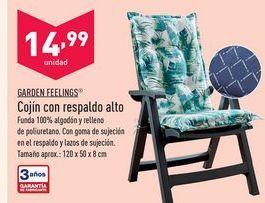Oferta de Cojines Garden Feelings por 14,99€