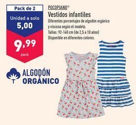 Oferta de Vestidos pocopiano por 9,99€