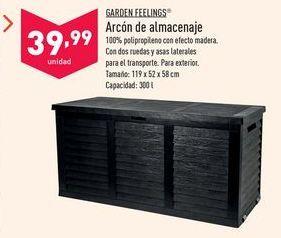 Oferta de Arcón Garden Feelings por 39,99€