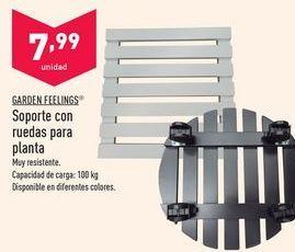 Oferta de Soportes Garden Feelings por 7,99€