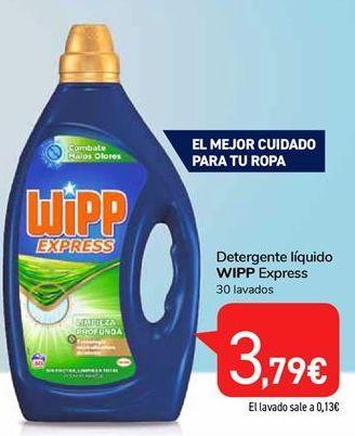 Oferta de Detergente líquido Wipp por 3,79€