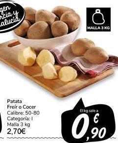 Oferta de Patata por 2,7€