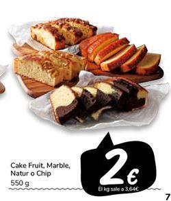 Oferta de Cake Fruit, Marble, Natur o Chip por 2€