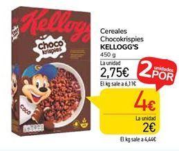 Oferta de Cereales Chocokrispies KELLOGG'S por 2,75€