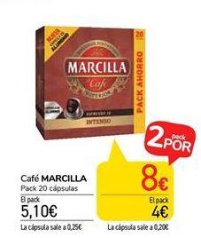 Oferta de Café MARCILLA por 5,1€