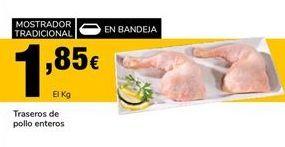 Oferta de Traseros de pollo por 1,85€