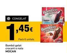 Oferta de Bombón helado Mocan por 1,45€