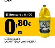 Oferta de Lejía La Antigua Lavandera por 0,8€