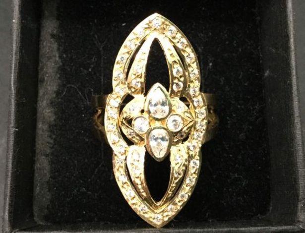 Oferta de Anillo oro primera ley (oro 18k con piedra) por 407,95€